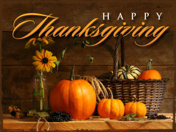 In the U.S. Thanksgiving is the 4th Thursday of November