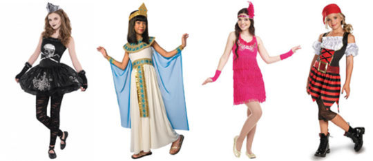 Feature halloween costumes feat