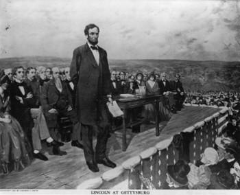The Famous Gettysburg Address happened in November