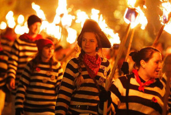 "Guy Fawkes is also known as ""Bonfire Night"""