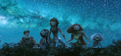 The Croods discover the great outdoors