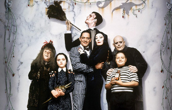 The Addams Family take gothic to a new level