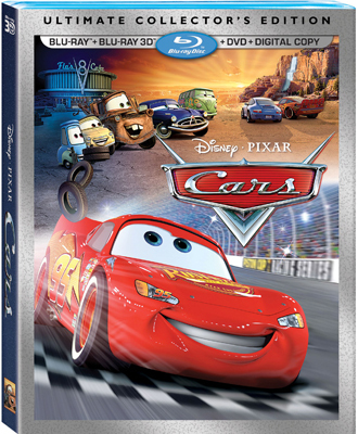 CARS 3D Ultimate Collector's Edition Blu-ray Combo Pack