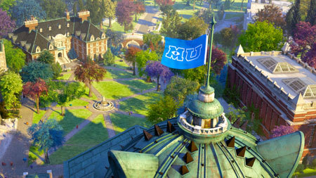 Beautiful Monsters University Campus