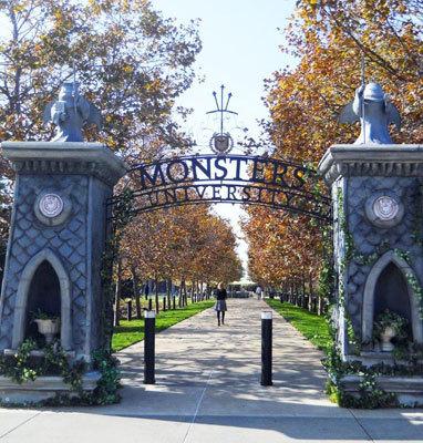 Monsters University Gate at Pixar
