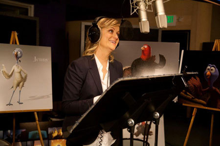 Amy recording voice of Jenny