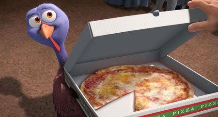 Reggie says pizza for dinner!