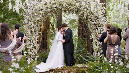 Edward and Bella's Wedding in Breaking Dawn Part 1