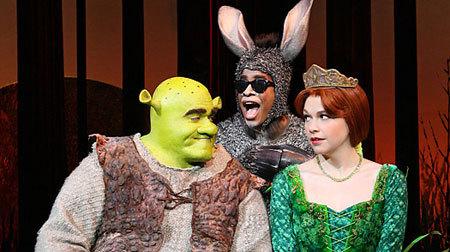 Shrek, Donkey and Fiona