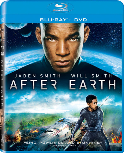 After Earth Blu-ray Cover art