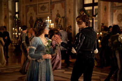 Romeo and Juliet meet at the ball