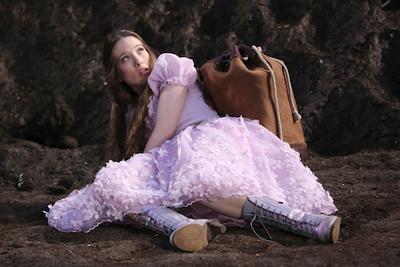 Alice (Sophie) arriving in Wonderland