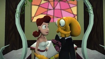 Octodad on his wedding day.