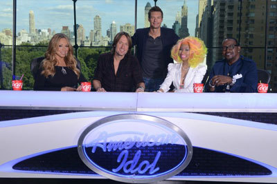 The judges on the show