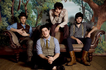 Mumford and Sons formed and played in West London