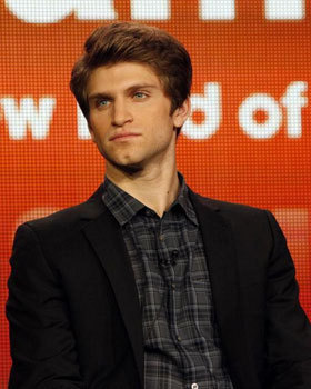 Keegan on stage at the interview