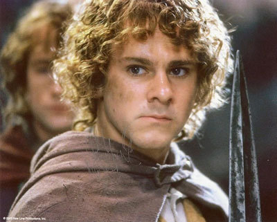 Dom as Merry in LOTR