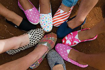 TOMS shoes in All Different Styles!