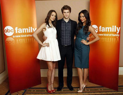 Troian, Keegan and Shay at the interview