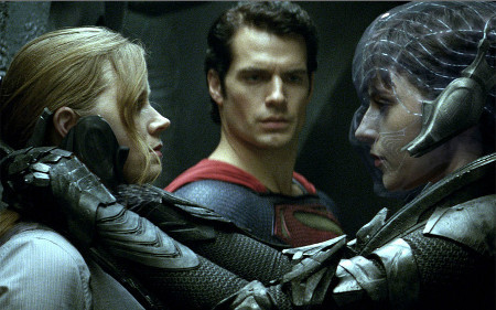 Lois, Superman and Zod's 2nd in command Fiora