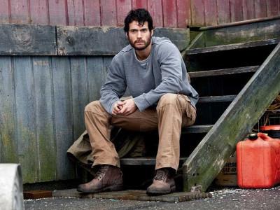 Clark Kent as an oil rig worker