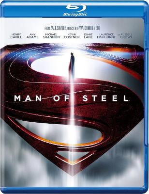 Man of Steel Blu-ray cover art