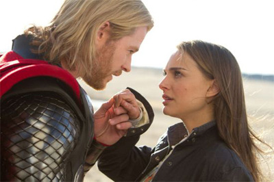 Thor and Jane reunited