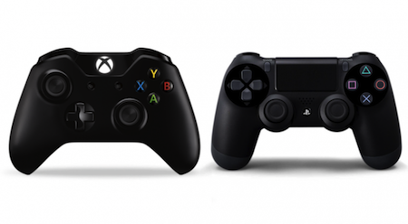The Xbox One and Playstation 4 controllers...Epic.