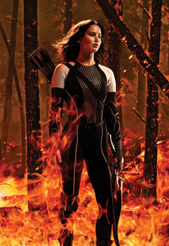 Katniss in the arena