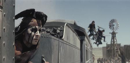 Indian Tonto (Johnny Depp)