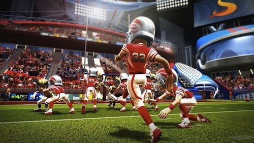 Football is 1 of the 6 events offered in Kinect Sports Rivals.