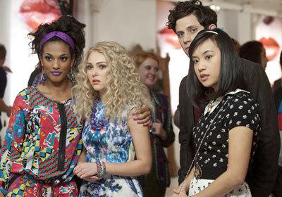 Freema Agyeman as Larissa, AnnaSophia Robb as Carrie, XX as Seth, and Ellen Wong as Mouse