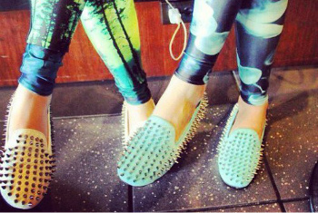 Spikey Loafers Look Sharp