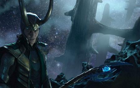 Loki in battle