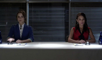 Spencer and Mona compete in a Quiz Off
