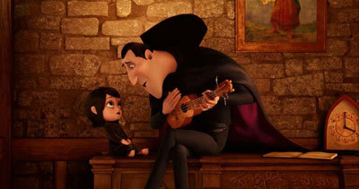 Drac sings to baby Mavis