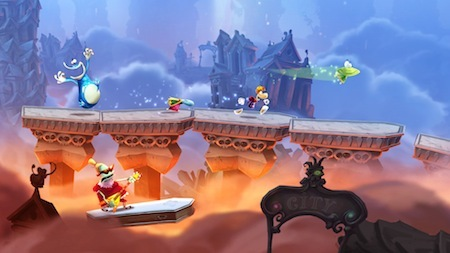 Rayman Legends, from Ubisoft