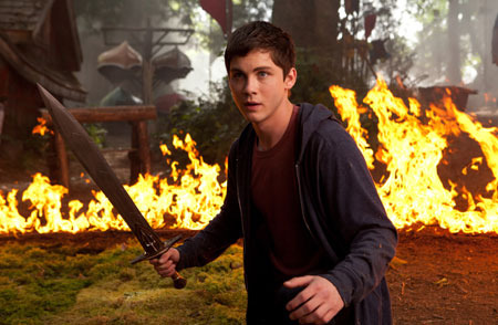 Percy defends Camp Half Blood