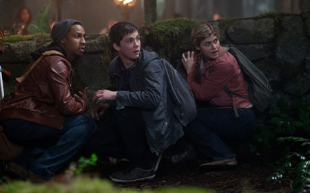 Grover, Percy and Annabeth prepare for another fateful adventure