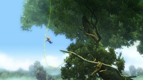 Swing like Tarzan high in the trees.