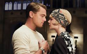 Leonardo DiCaprio and Carey Mulligan star as Gatsby and Daisy