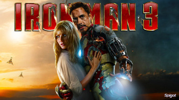 Robert Downey Jr. and Gwyneth Paltrow star in Iron Man 3