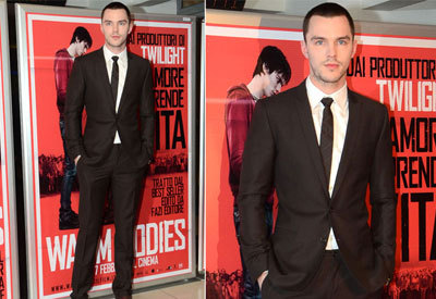 Nick Hoult at the premiere