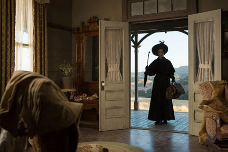 The Poppins-style aunt arrives to save the family
