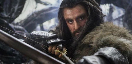 Thorin goes into battle