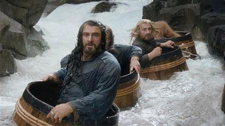 Thorin (Richard) in his barrel