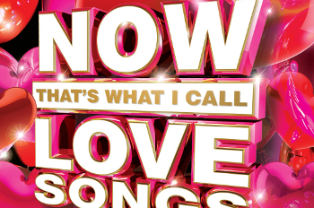 NOW That's What I Call Love Songs features 18 romantic tracks