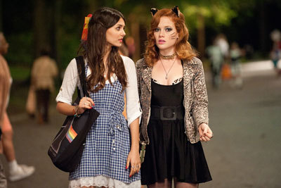 Victoria with Jane Levy in Fun Size