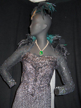 Closer on Evanora dress
