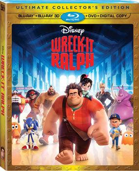 Wreck-It Ralph Blu-ray Combo Pack